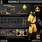 1/12 - Golden Dragon - Gomez - Wired Tattered Black Cape