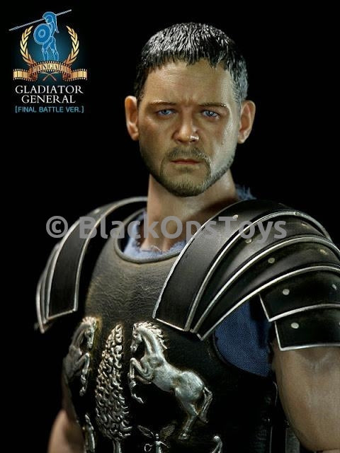 Gladiator General Deluxe Version Complete Male Base Body w/Head Sculpt Extra Hands
