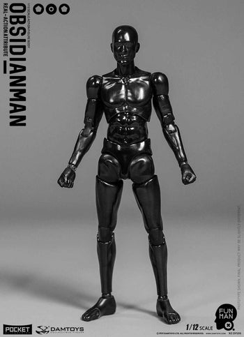 1/12 - Obsidian Man Body - MINT IN BOX