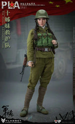 Vietnam Ten Sisters Ambulance Team - Female Green Uniform Set