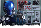 Batman Arkham Knight Blue Helmet w/LED Light-Up Eyes