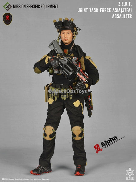 ZERT Joint Task Force Asia Black & Tan Alpha Version Mint in Box
