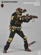 ZERT Joint Task Force Asia Black & Tan Alpha Version Helmet & NVG Set