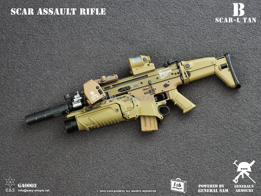 Tan SCAR-L MK16 Assault Rifle B MINT IN BOX