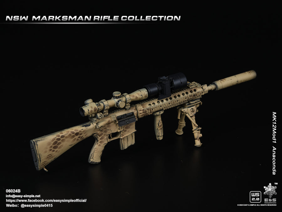 NSW Marksman Rifle - MK 12 Mod1 Anaconda Rifle
