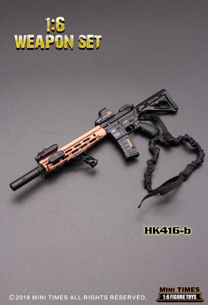 HK 416 Assault Rifle Set B - MINT IN BOX