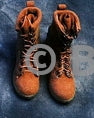 Feel Toys Female Commando Viper Foot Type Combat Boots w/Feet & Pegs