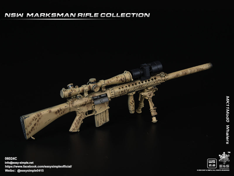 NSW Marksman Rifle - Attachment Set B