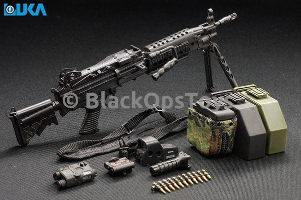 Black MK46 MOD1 with Gen2 Para Stock MINT IN BOX