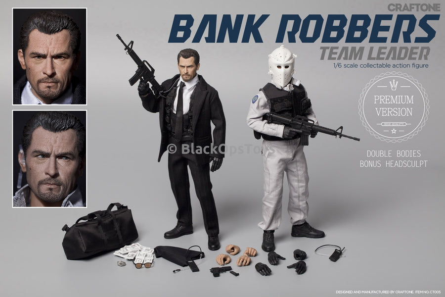 CRAFTONE Bank Robbers Team Leader Premium Version Mint in Box