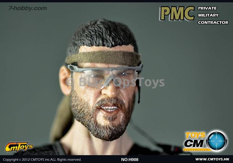 PMC Headsculpt with Bandana Trimmed Beard