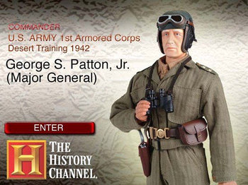 WWII Commander George S. Patton, Jr. (Major General) MINT IN BOX