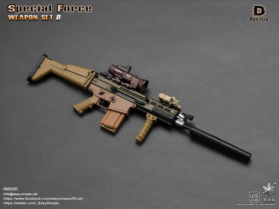 PREORDER - Special Force Weapon Set B - Full Set - MINT IN BOX