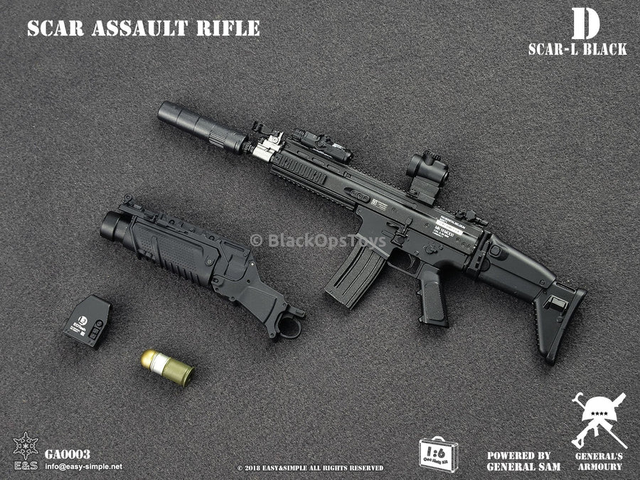 Black SCAR-L MK16 Assault Rifle D MINT IN BOX