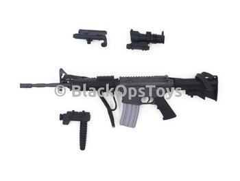 Dragon SDU New Option M4 Carbine Rifle w/ Scope Laser Foregrip