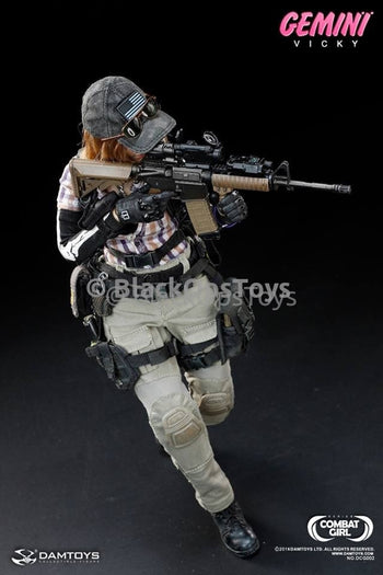 Rare Combat Girl Series Female PMC GEMINI - VICKY Mint in Box