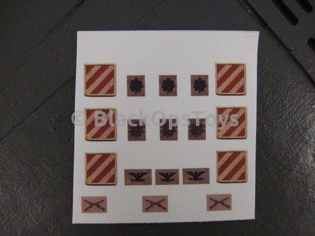 D-Day Toys Ranks & Unit Patches3rd ID MAJ-COL