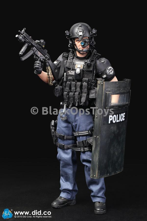 LAPD SWAT - Black Smart Phone w/Holster