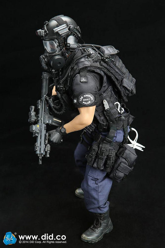 DID MA1001 LAPD SWAT Assaulter Driver Mint In Box