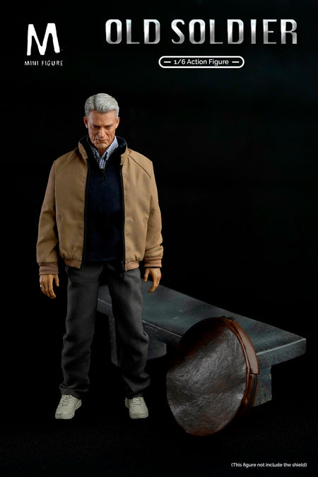 PREORDER - Old Soldier w/Bench - MINT IN BOX