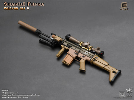 PREORDER - Special Force Weapon Set B - Al Tanf - MINT IN BOX