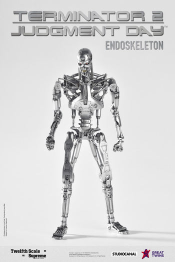 PREORDER 1/12 Scale Endoskeleton - T2 Judgement Day MINT IN BOX