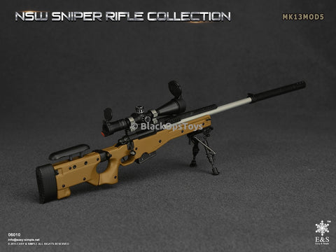 Easy & Simple 06010 NSW Sniper Rifle Collection MK13MOD5 Mint In Box