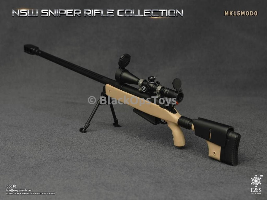 Easy & Simple 06010 NSW Sniper Rifle Collection MK15MOD0 Mint in Box