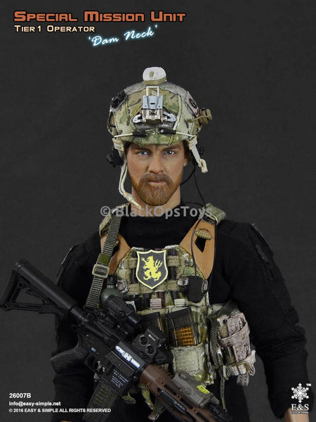 26007B Special Mission Unit Tier-1 Operator Dam Neck Mint in Box