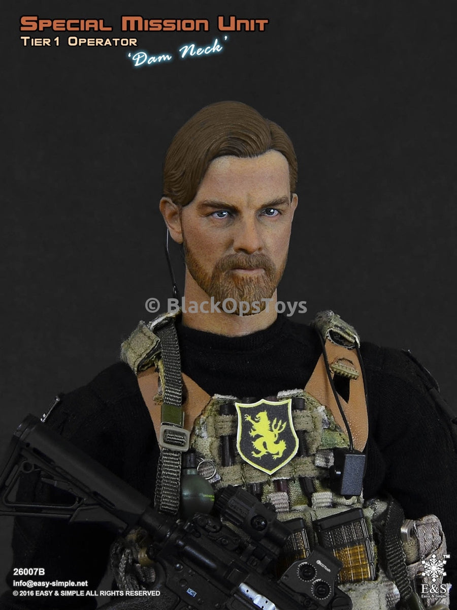 Special Mission Unit Tier-1 Operator Dam Neck - MINT IN BOX