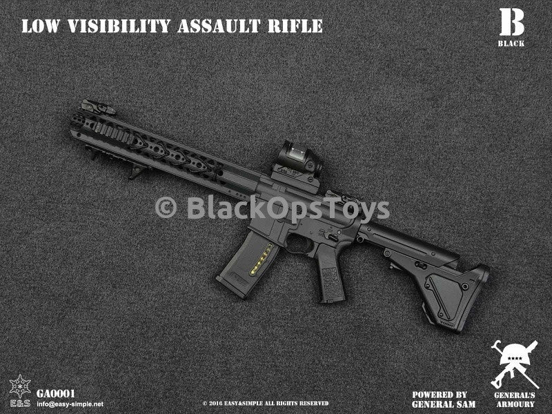 PREORDER General's Armoury Low Visibility Assault Rifle BLACK