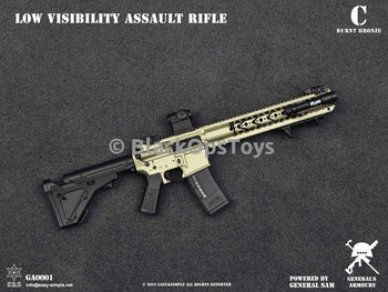 Low Visibility Assault Rifle BURNT BRONZE Mint In Box