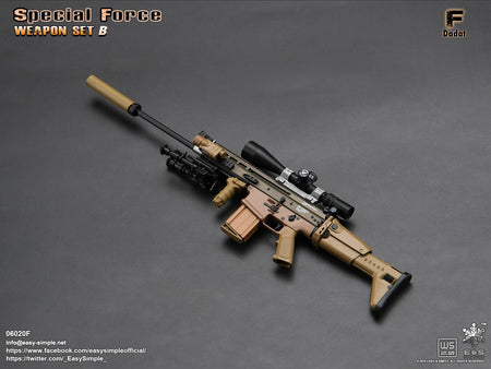 PREORDER - Special Force Weapon Set B - Dadat - MINT IN BOX