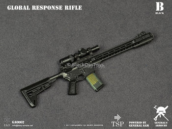 General's Armoury BLACK Global Response Rifle Type B Mint in Box