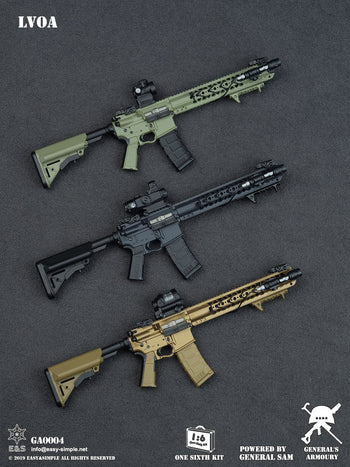 LVOA Weapon Set - Three Pack Combo - MINT IN BOX