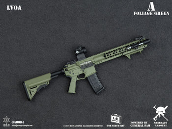 LVOA Assault Rifle Set - Foliage Green - MINT IN BOX