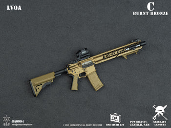 LVOA Assault Rifle Set - Burnt Bronze - MINT IN BOX