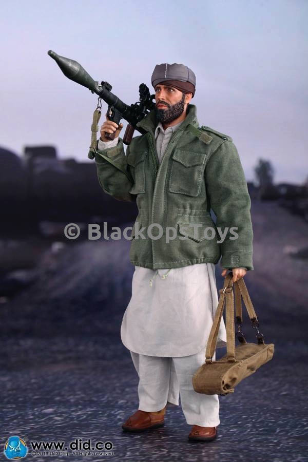 Afghan War 1980's Civilian Fighter Metal RPG-7