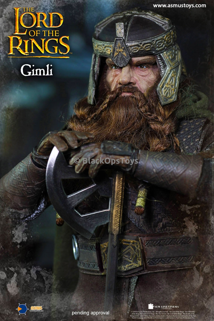 Gimli Lord of the Rings Boots (Peg Type)