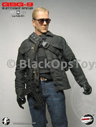 German GSG9 Low Profile Version Jack Bauer Black Crossbody Backpack