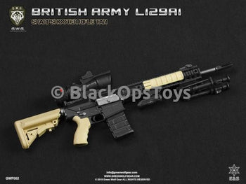 Green Wolf Gear FDE TAN British L129A1 Sharpshooter Rifle Set Mint in Box