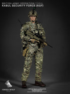 British Marine - Kabul Security - Male Head Sculpt (Type 1)