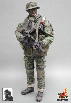 US Navy Seal In Vietnam Stoner M63A Machine Gunner - MINT IN BOX