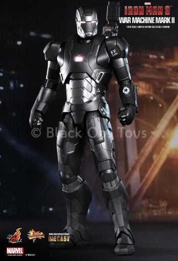 Iron Man 3 Diecast Metal War Machine Mark II Mint In Box