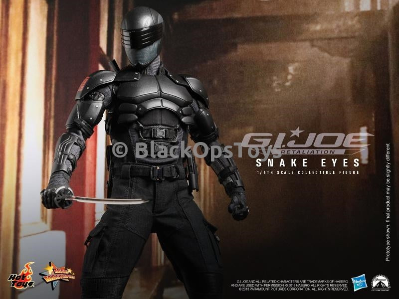 G.I. Joe Retaliation Snake Eyes Collectible Figure Mint in Box