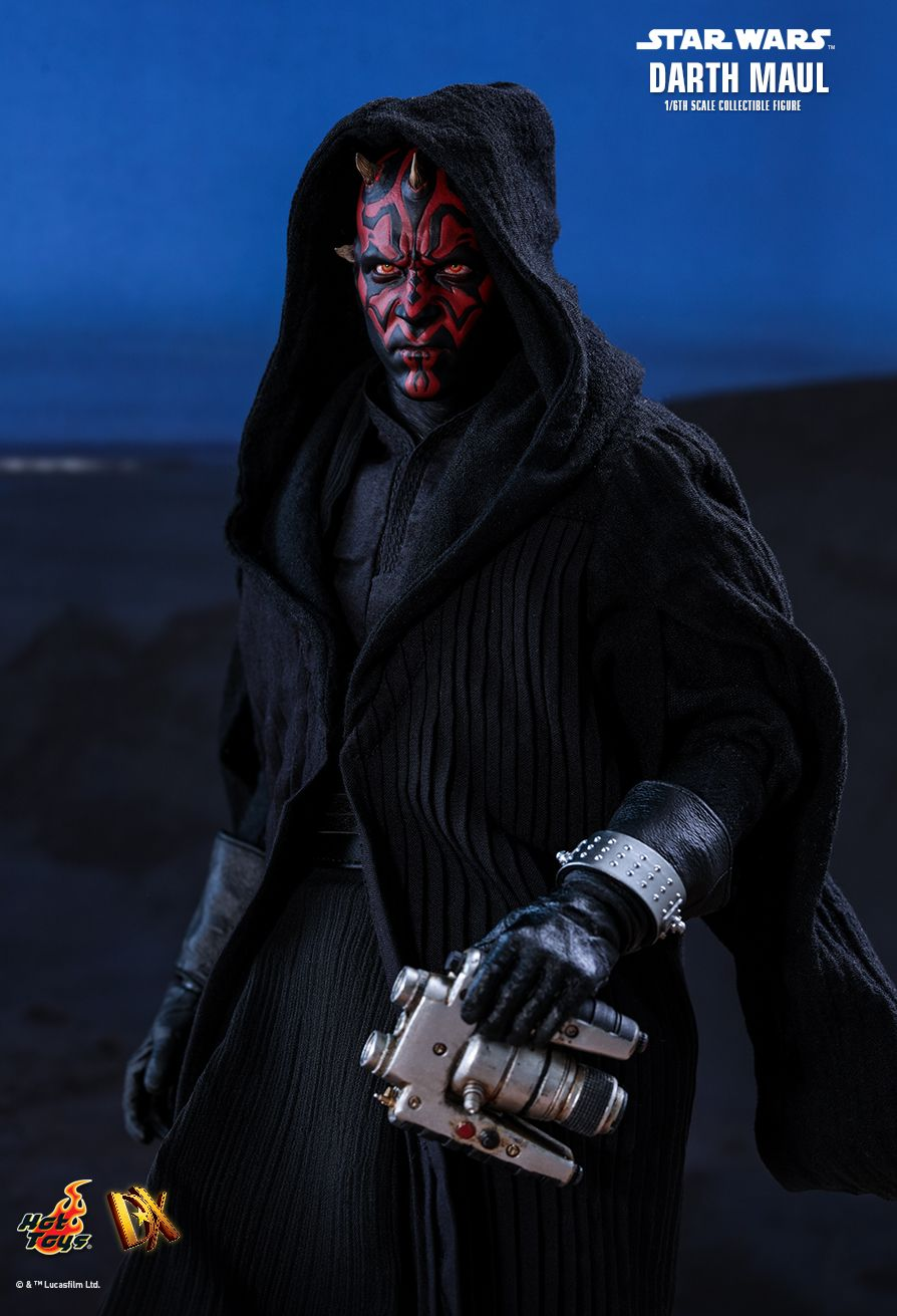 STAR WARS - Darth Maul - Black Leather-Like Wrist Covers