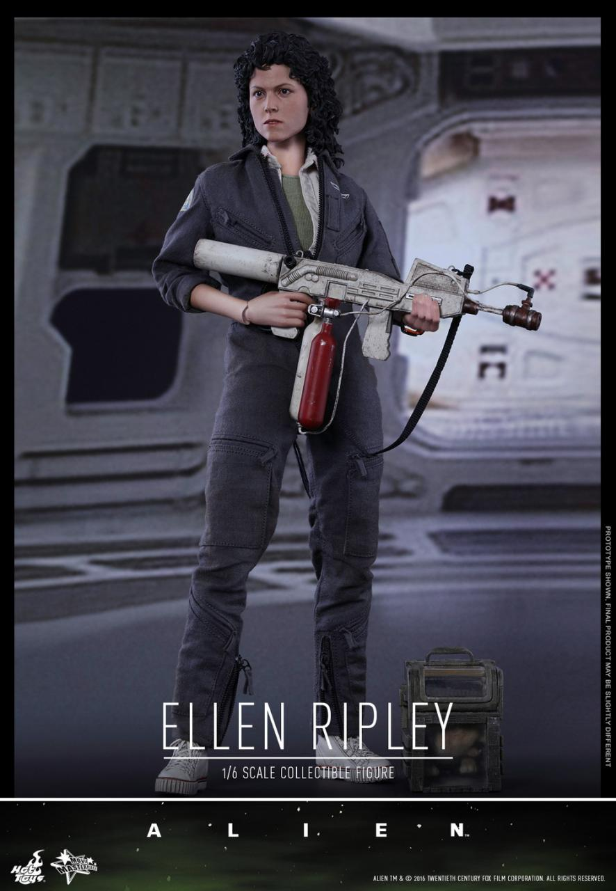 Alien Ellen Flamethrower