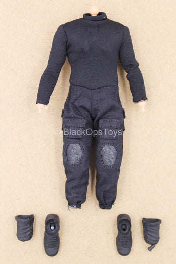 1/12 - The Punisher - Damaged Male Base Body w/Uniform Set