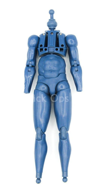 Comic Captain America - Blue Male Base Body