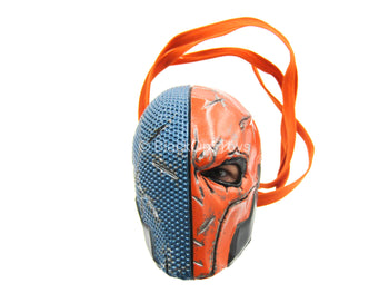 Arkham Origins - Deathstroke - Blue & Red Masked Head Sculpt